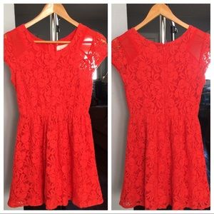 Anthropologie Coincidence & Chance Lace Dress